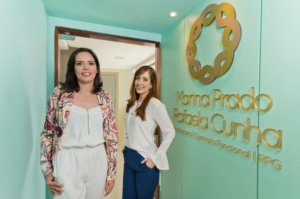 Rafaela Cunha e Mariana Prado Créditos: Américo Nunes/Divulgação
