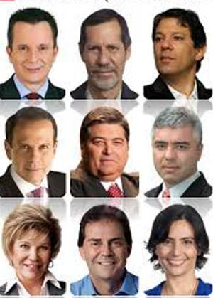 Candidatos a prefeito de São Paulo