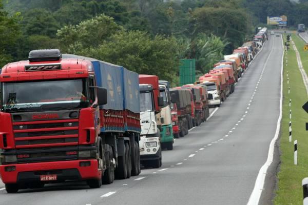 Caminhão de carga/Divulgação