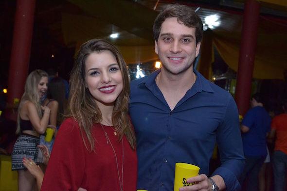 Felipe Duque e Tatiana petti Créditos: Larissa Nunes/Vagalume Comunicação