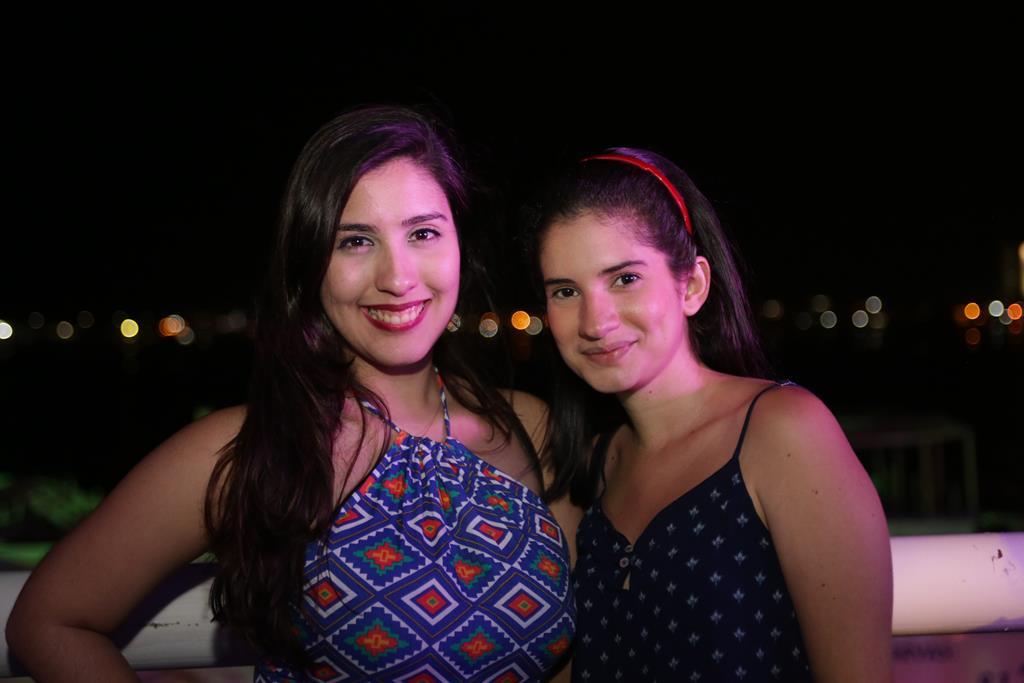 Júlia Ribeiro e Eduarda Albuquerque Créditos: Celo Silva/Vagalume Comunicação