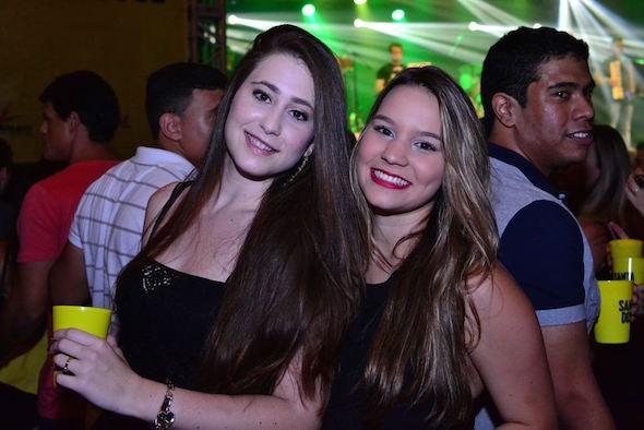 Juliana Luck e Amanda furtado Créditos: Larissa Nunes/Vagalume Comunicação