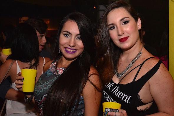 Priscila Carvalho e Mariana Lacerda Créditos: Larissa Nunes/Vagalume Comunicação