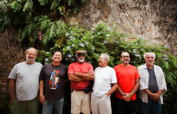 Eduardo Araújo, Maurício Arraes, José Barbosa, Aderbal Brandão, Luciano Pinheiro, Humberto Magno. Crédito: Diego Di Niglio/Divulgação
