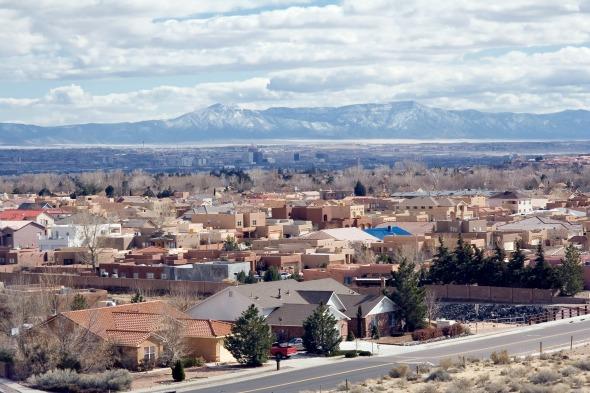 Albuquerque, no Novo México Créditos: Divulgação
