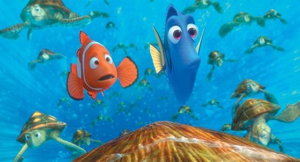 """Cena do filme """"Procurando Nemo"""". Crédito: Reprodução Facebook"""