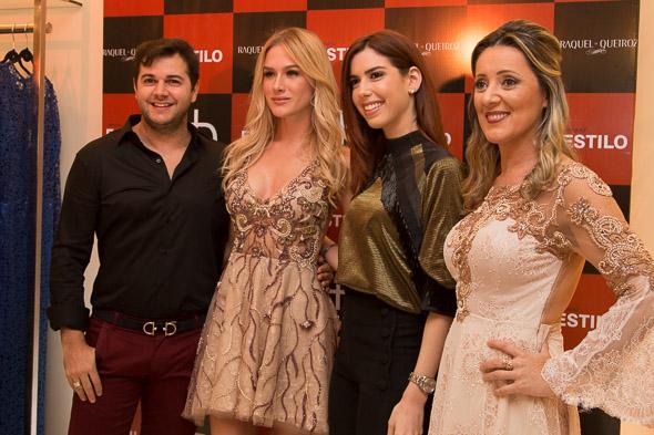 Heracliton, Fiorella, Camila e Raquel  Crédito: Tatiana Sotero/D.P./DA Press