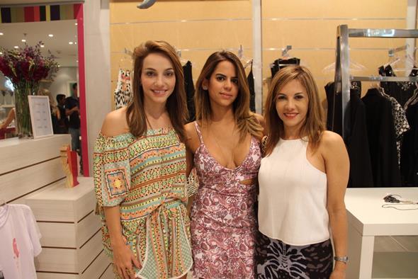 Cristiana Lemos, Manuela Tenório e Luciana Locio Créditos: Juliana Neves/4 Comunicação