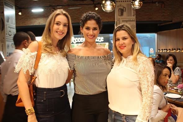 Dayanne Galvao, Gabriela Queiroz Galvao e Karolina Macedo Créditos: Juliana Neves/4 Comunicação