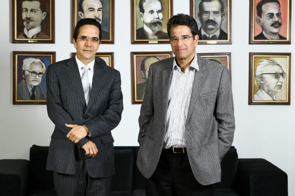 Maurício e Alexandre Rands comandam o primeiro evento à frente do Diario de Pernambuco. Crédito: Paulo Paiva/ DP / D.A Press