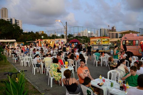 Uma das edições do REC Gastrô. Crédito: Inaldo Lins/Divulgação