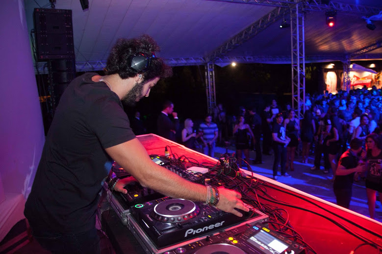 José Pinteiro também discotecou no evento Créditos: Vito Sormany/moove comunicação