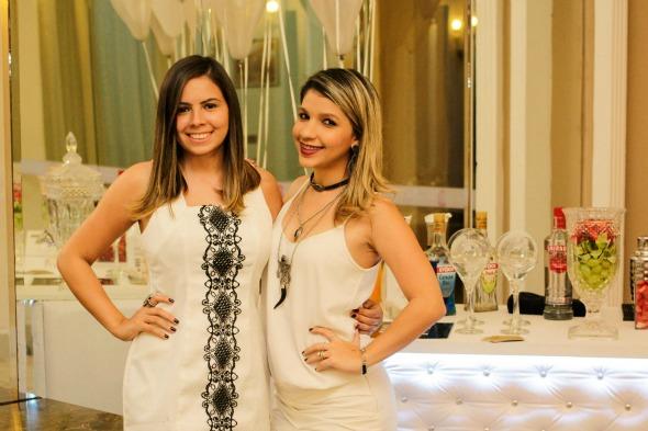 Amanda Lourenço e Renata Bozzi. Crédito: Divulgação/Top Recife