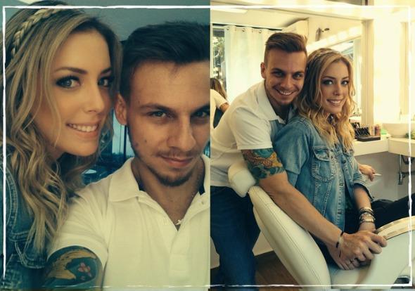 Rodolfo junto com Fabiana Justus Créditos: divulgação