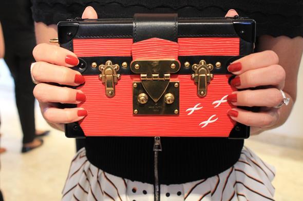 Esta é a Petite Malle, uma das bolsas favoritas de Juliana Santos e que também foi usada por Sophie Charlotte Créditos: Taís Machado/DP/D.A Press