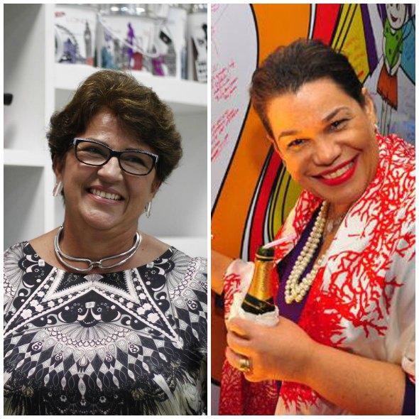 Márcia e Madá são as responsáveis pelo encontro Créditos: Raquel Melo e NandoChiappetta