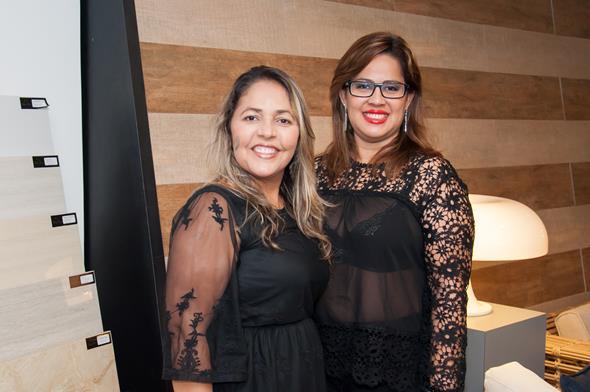 Claudia Nogueira e Rosy Gadi Créditos: Dado Cavalcanti/divulgação