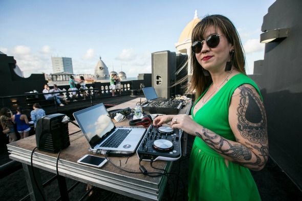 DJ Allana Marques. Crédito: Divulgação/Boat Party