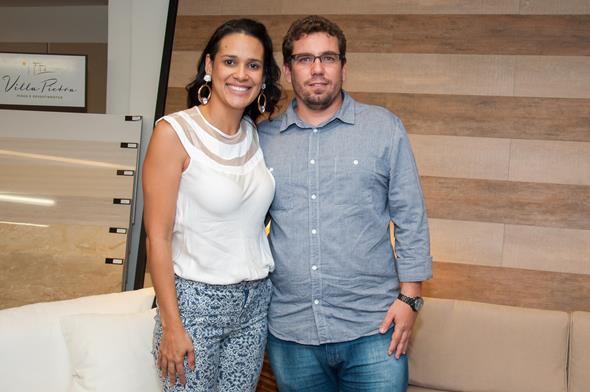 Patricia Rabelo e Braulio Ferraz Créditos: Dado Cavalcanti/divulgação