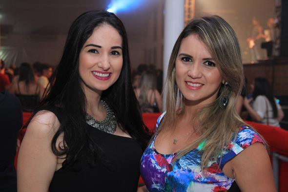 Laura Gomes e Raquel Barbosa Créditos: Luiz Fabiano/Comunnik
