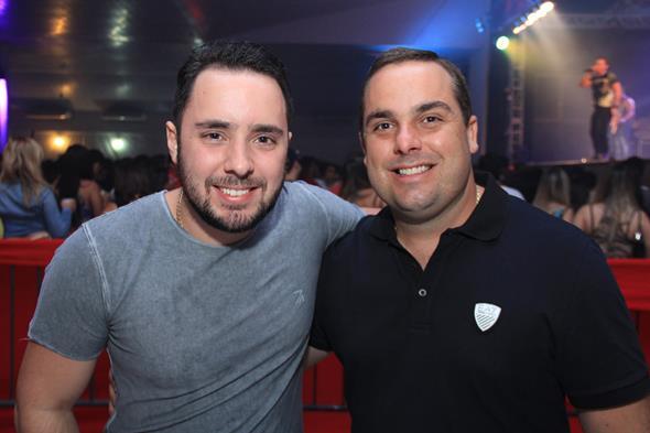 Patrick Tavares e Augusto Lins Créditos: Luiz Fabiano/Comunnik
