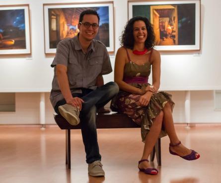 Gustavo Bettini e  Lia Lubambo  Créditos: divulgação