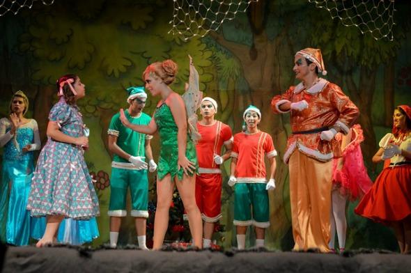"""Cena do espetáculo """"Encantado Natal Kids"""". Crédito: André Luiz/Divulgação"""