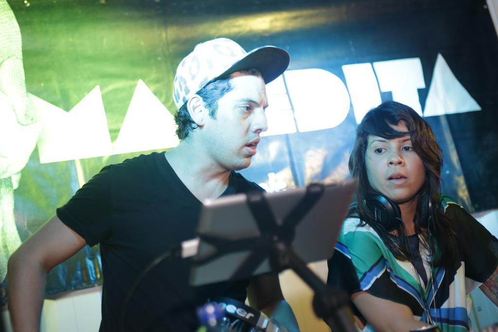 GoozGooz e Luana Lima  foram os responsáveis por animar a pista Lacre Créditos: Celo Silva/Divulgação