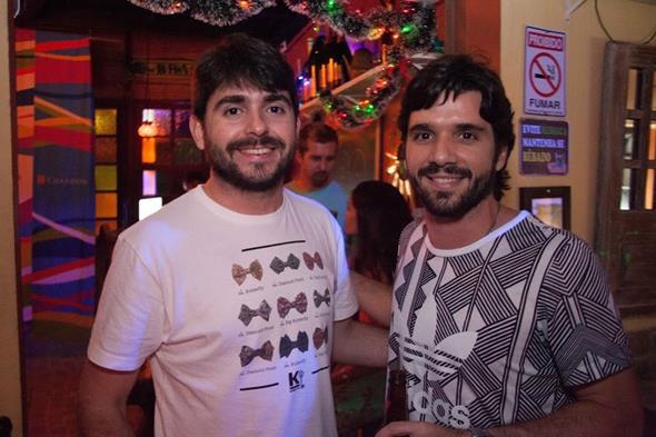 Pedro de Paula e Alvaro Rafael Créditos: Vito Sormany/Moove Comunicação