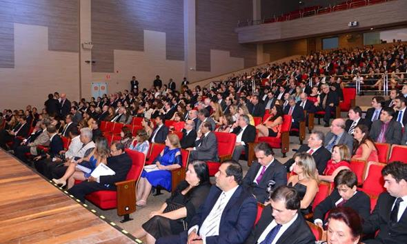 O Teatro RioMar esteve lotado para a premiação Créditos: Divulgação/Ademi