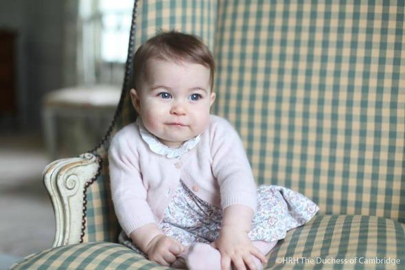 Princesa Charlotte. Crédito: Reprodução Facebook