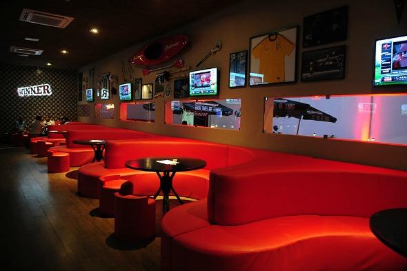 Winner Sports Bar. Crédito: Divulgação
