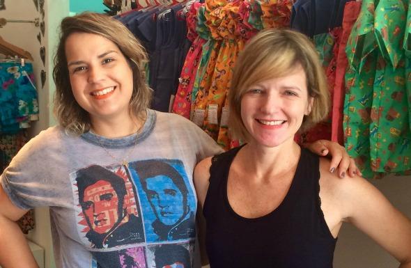 Angela Lamenha e Raquel Laureano. Crédito: Divulgação/3 Meninas