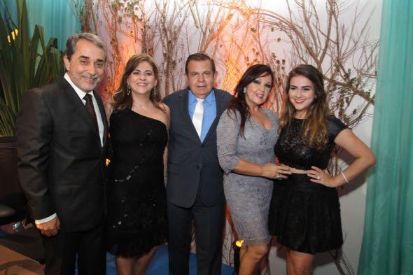 Guilherme e Gláucia Machado, João Alberto, Sheyla Wanderley e Rita Machado. Crédito: Nando Chiappetta
