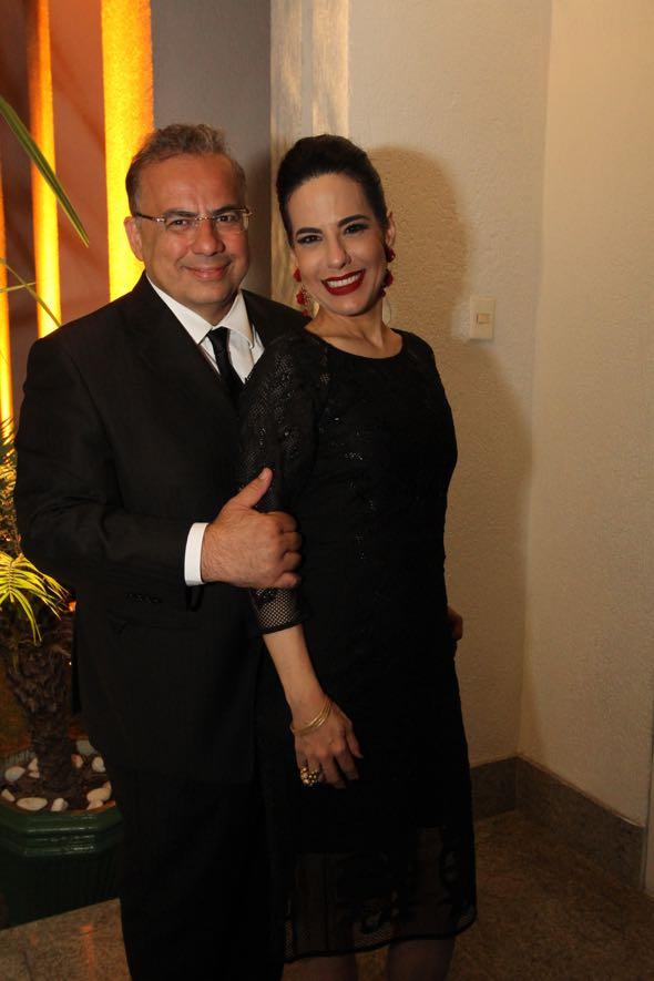 Waldir Bitú e Ana Paula Cascão. Crédito: Nando Chiappetta