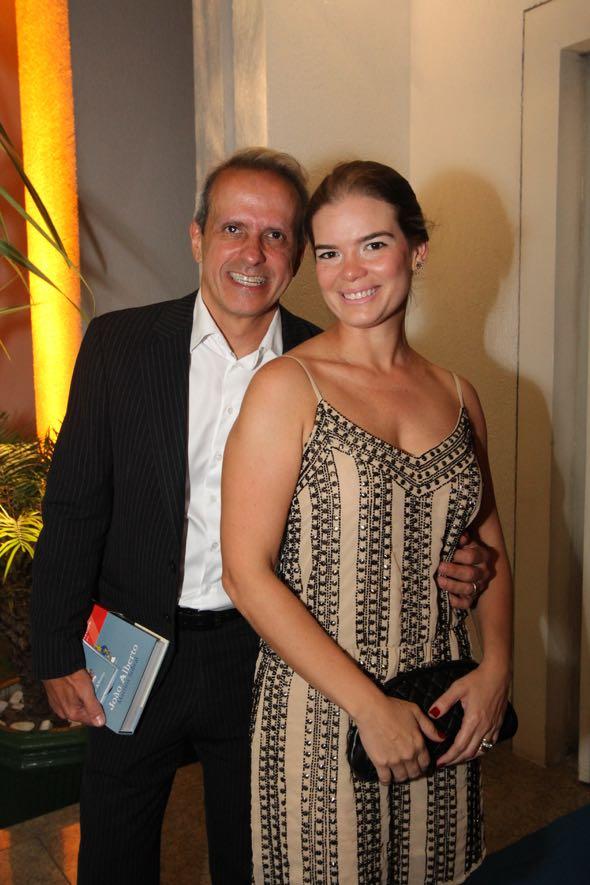 Carlos Augusto Costa e Juliana LIns. Crédito: Nando Chiappetta