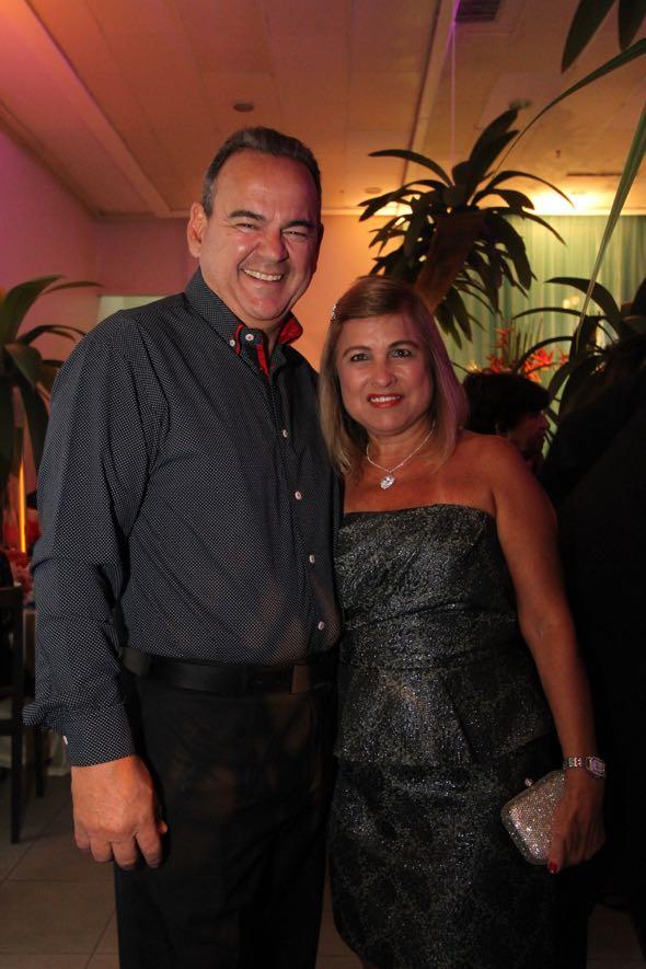 Mário e Dina Gil. Crédito: Nando Chiappetta