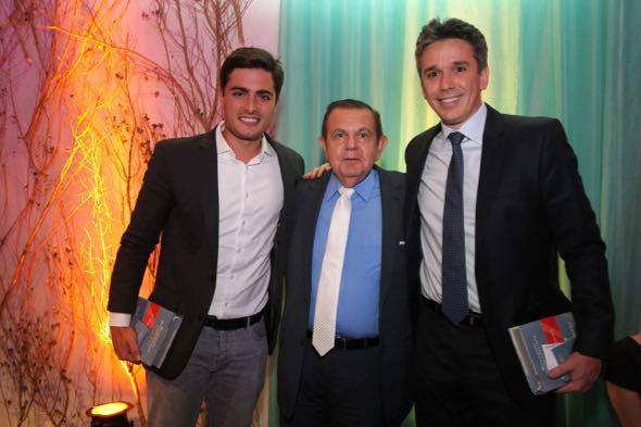 Camilo SImões, João Alberto e Felipe Carreras. Crédito: Nando Chiappetta