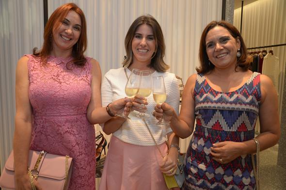 Auricelia Pereira, Clara Regina e Rosa Ximenes. Crédito: Divulgação/Valentino
