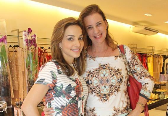 Cris Lemos e Sofia Lins. Crédito: Juliana Neves/Divulgação