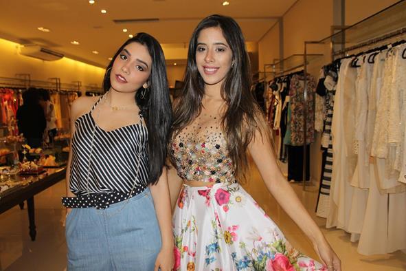 Millena Lins e Bruna Hazin. Crédito: Juliana Neves/Divulgação