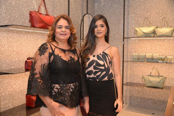 Sandra Gomes e Karla Santos. Crédito: Divulgação/Valentino