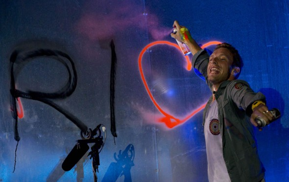 Coldplay lançou novo clipe com a cantora Beyoncé - Crédito: Rock in Rio/Divulgação