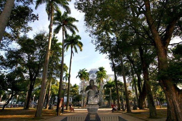 Praça da República - Crédito: Paulo Paiva/DP/D.A Press