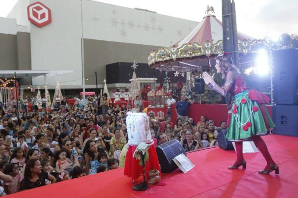 Carol Levy em sua primeira apresentação da Cantata Créditos: Andrea Rego Barros/Divulgação