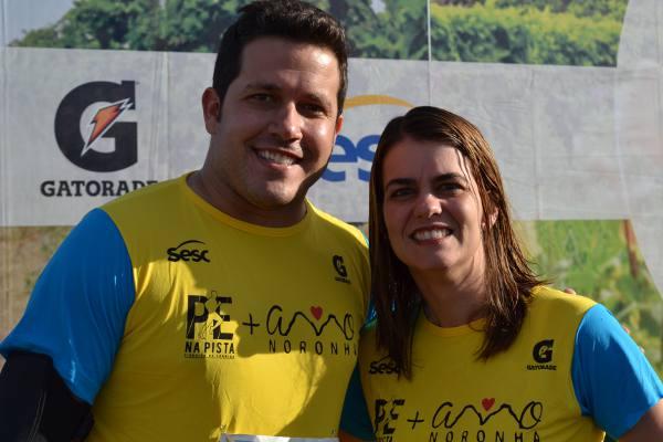 Diogo Perez e Ana Paula Vilaça