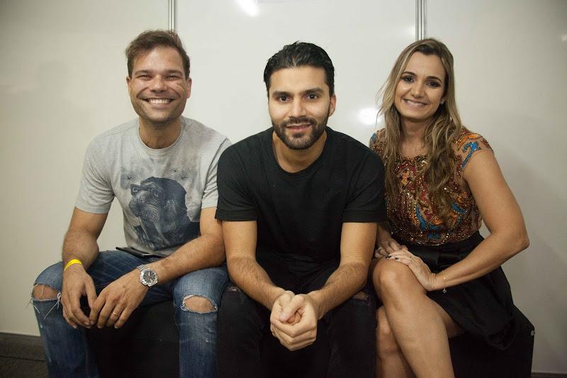 Bruno Cesar, R3HAB e Ju Cavalcanti Créditos: Vito Sormany/ Moove Comunicação