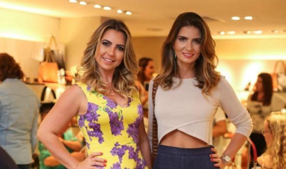 Paula e Andreia Acciol. Crédito: Paloma Amorim/Divulgação