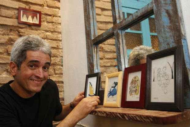 As obras de Samuca fazem parte da mostra Créditos: Divulgação