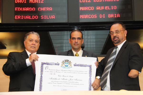 Celso Muniz,  Romildo Neto e Vicente André Gomes/Divulgação
